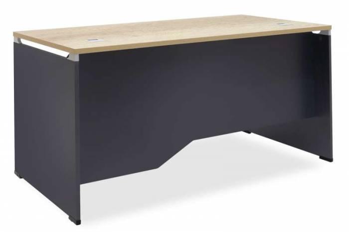 Birou Lotus Dark Grey 150x80x75 cm