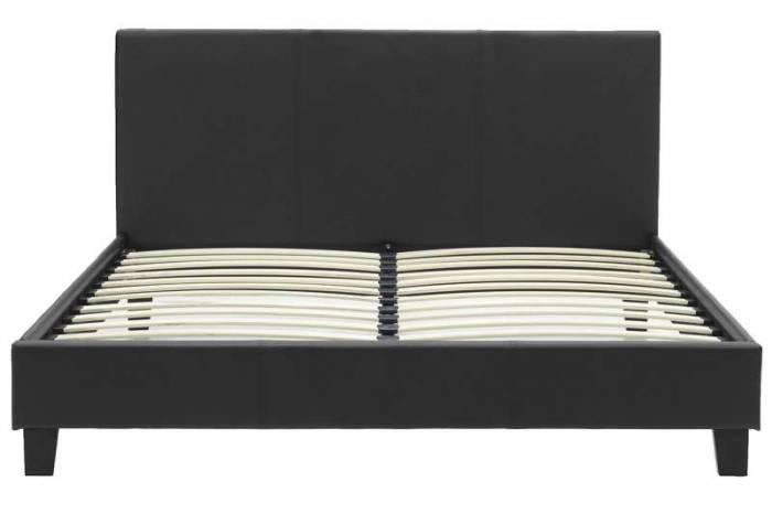 Pat dublu Nevil Black Matte 150x200