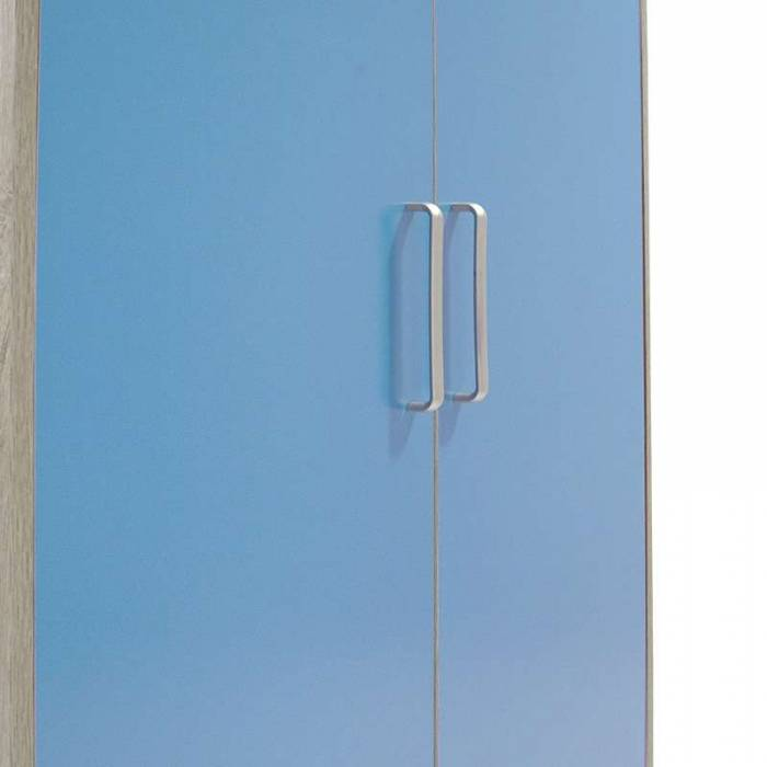 Șifonier cu 2 uși Looney Blue