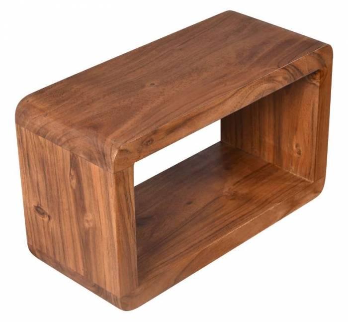 Etajeră Acacia, 20x34x15 cm, lemn, maro