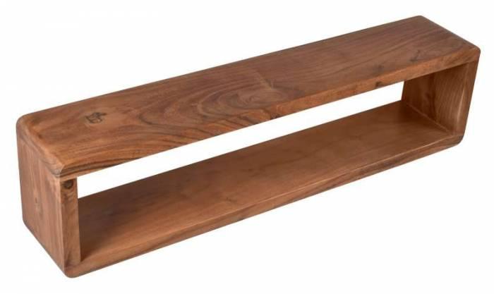 Etajeră Acacia, 20x80x15 cm, lemn, maro