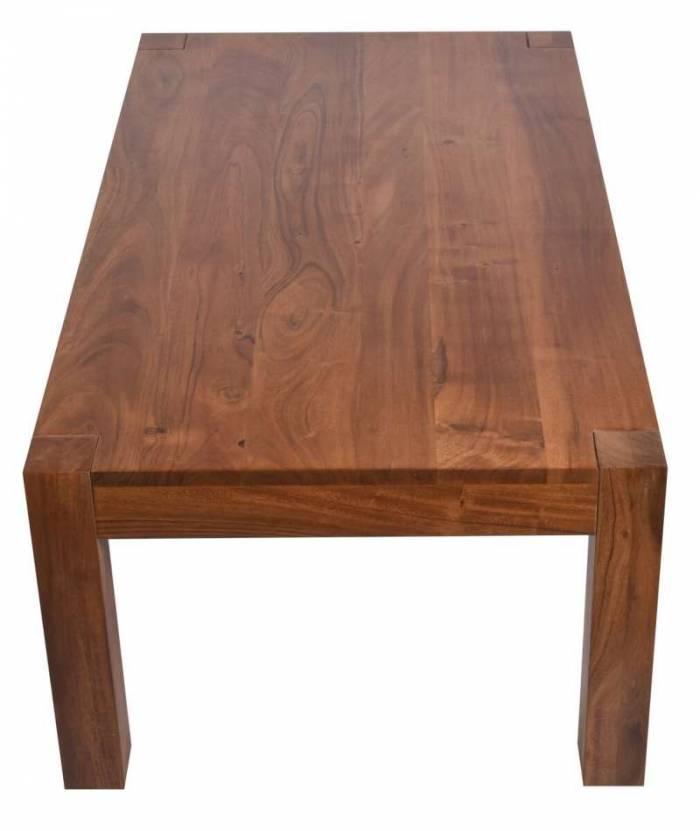 Măsuță de cafea Acacia, 40x110x60 cm, lemn, maro
