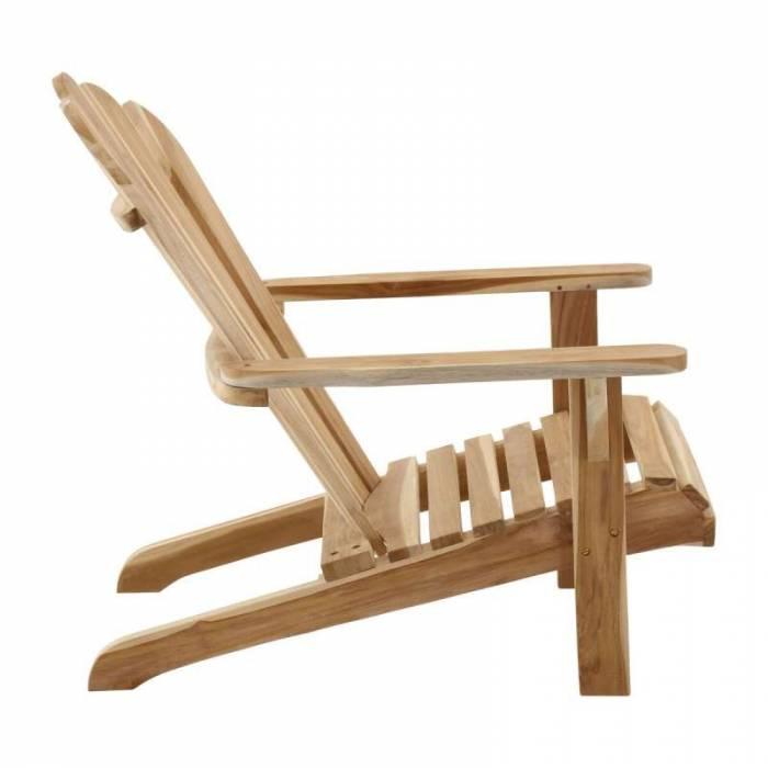 Scaun de grădină Deck, 104x57x73 cm, lemn, maro