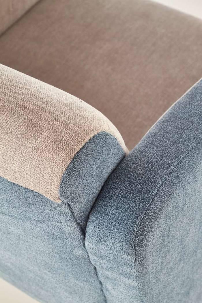 Fotoliu tapițat Miranda 62x70x88 cm, textil