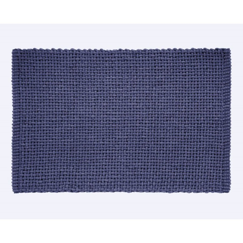 Covoaș de baie albastru Noa 45x70 cm poza