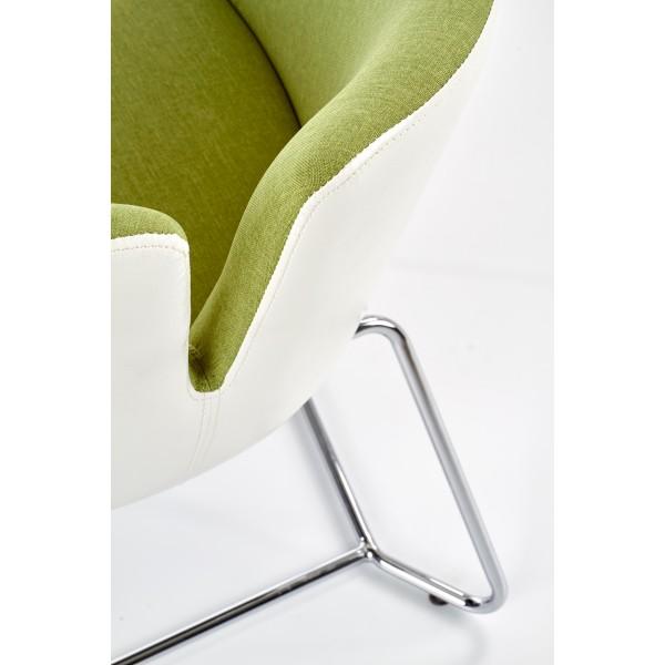 Fotoliu living Pivot 62x63x74 cm, textil/metal