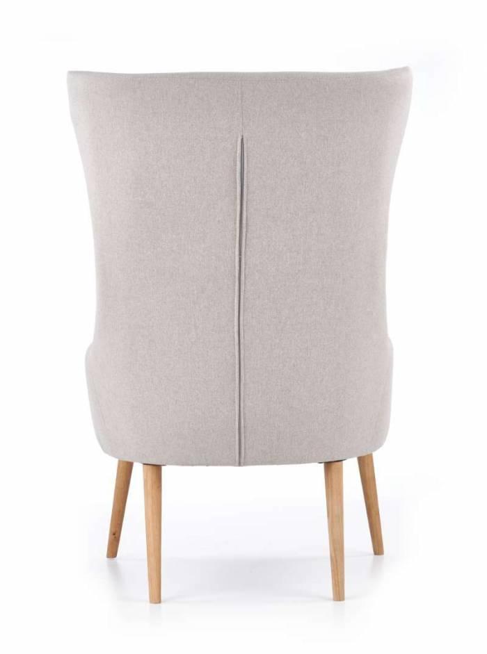 Fotoliu în stil scandinav Favaro 71x81x106 cm, textil/lemn