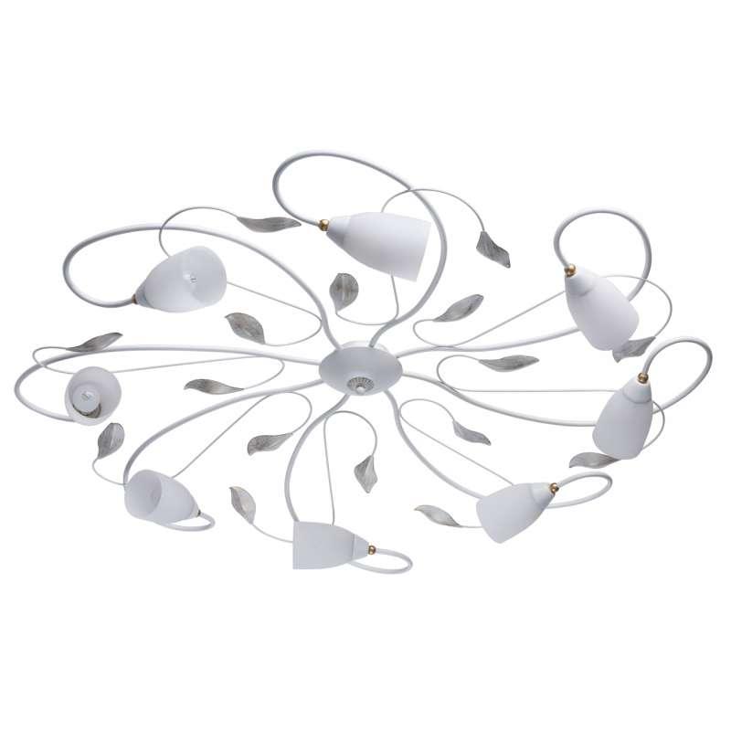 Lustră albă florală Tranquil poza