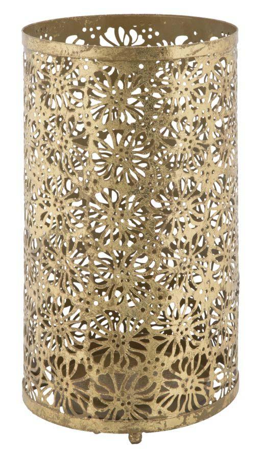 Suport de umbrele Glam, 42x24x24 cm, metal, auriu poza