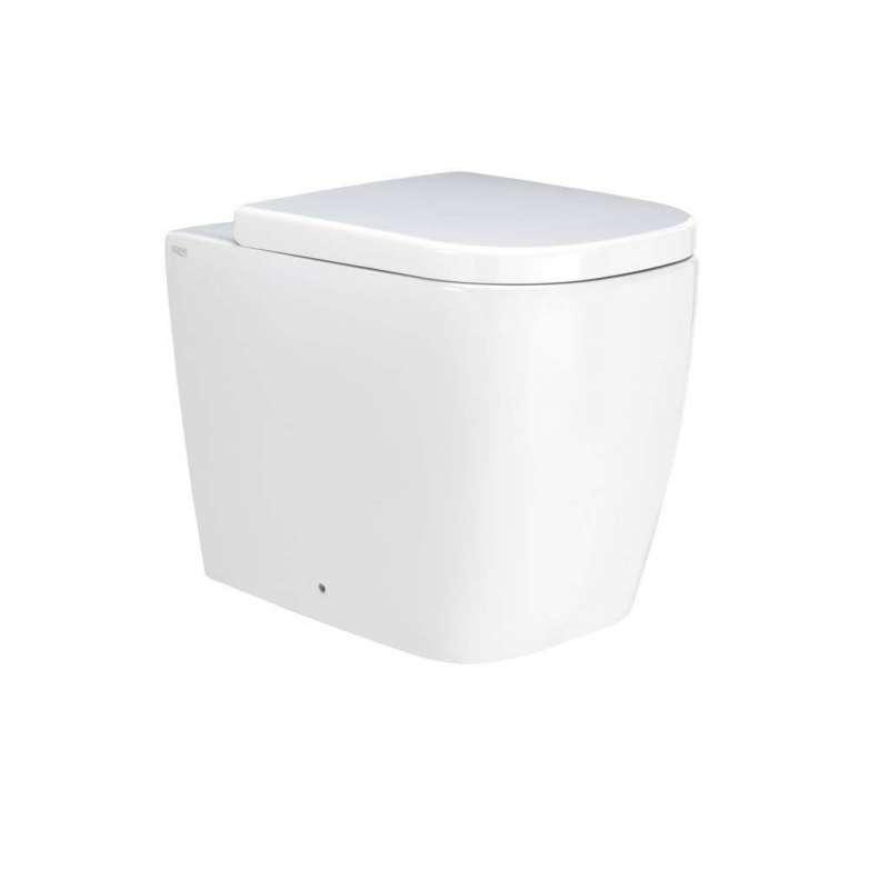 Toaletă Galaxy, 42x35x55 cm, ceramică, alb poza
