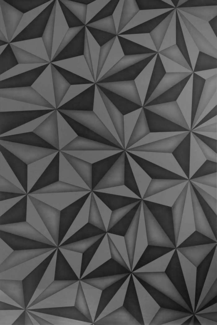 Bufet Praga, 84x42x180 cm, melamină, gri