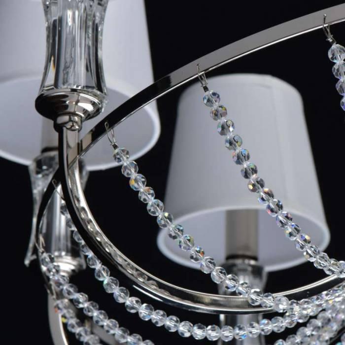 Candelabru clasic cu cristale Kalida