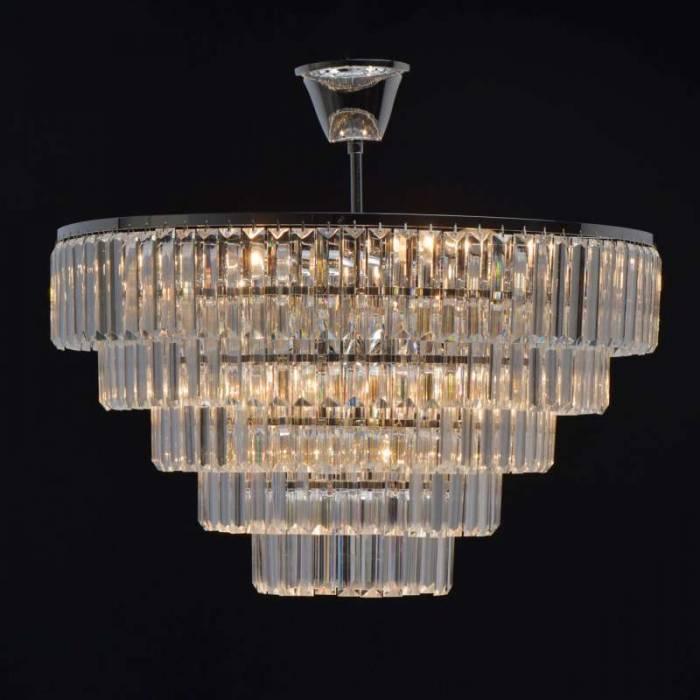 Candelabru conic cu cristale Doria