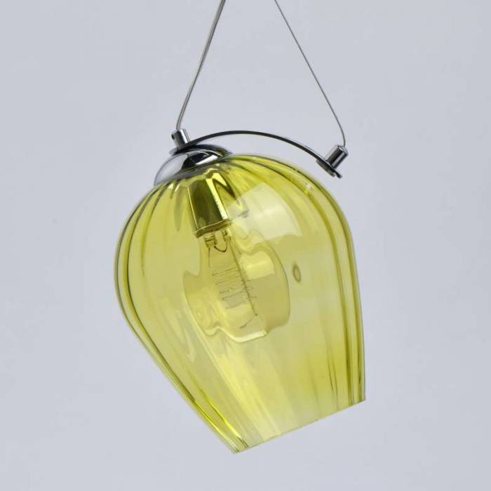 Candelabru modern din sticlă Larsen