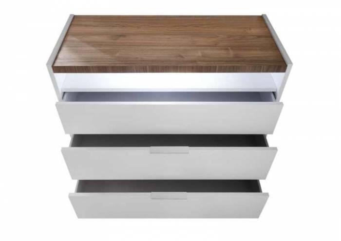 Comodă Senior, 90x50x111 cm, lemn, multicolor