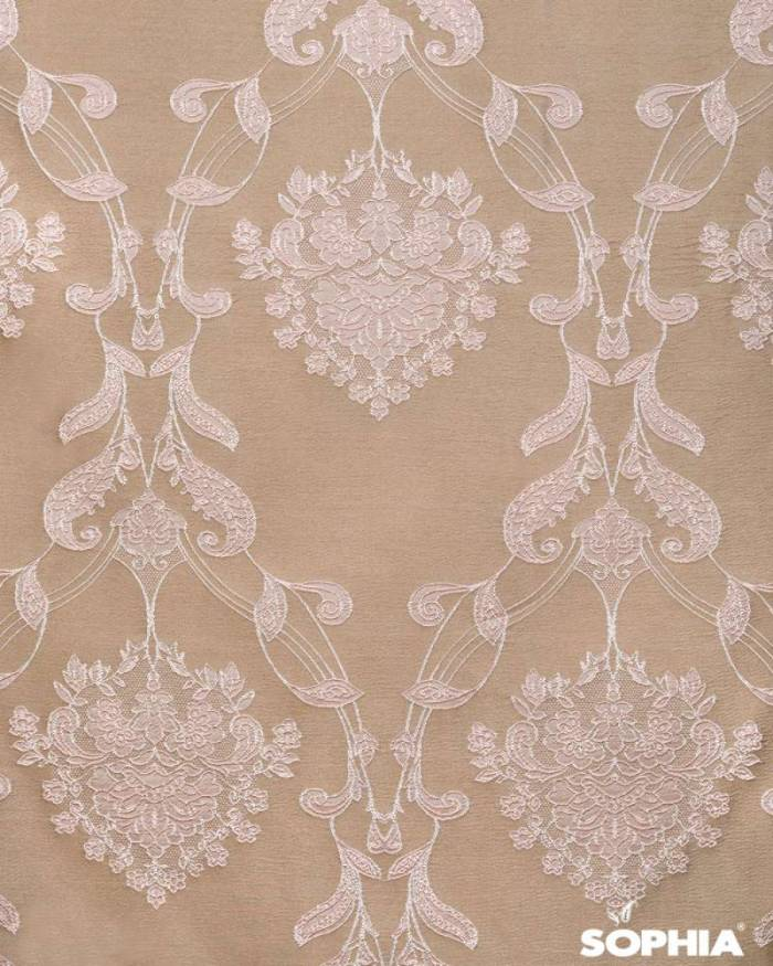 Material draperie Queen's Flower