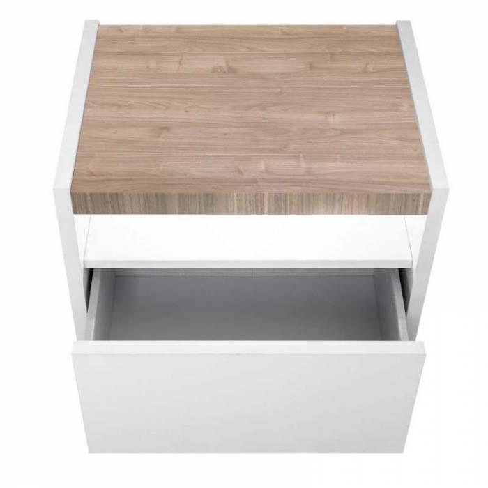 Noptiere Senior, 42x40x51 cm, lemn, multicolor