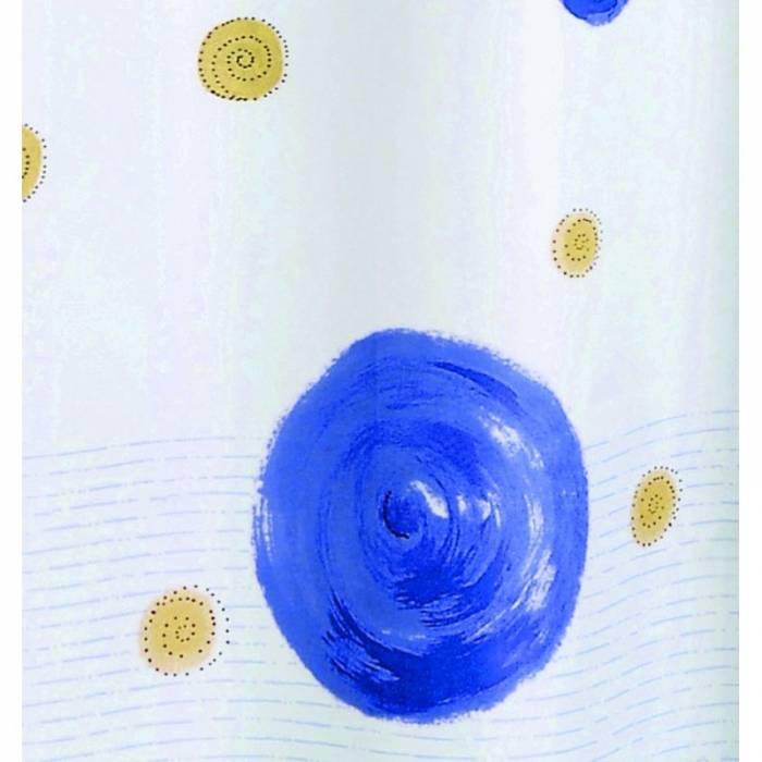 Perdea de duș albastră Diana 180x200 cm