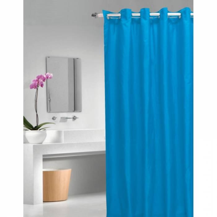 Perdea de duș albastră Magica lisa Azul 180x200 cm
