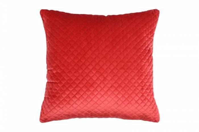 Pernă roșie velvet Baryton Rouge 45x45cm