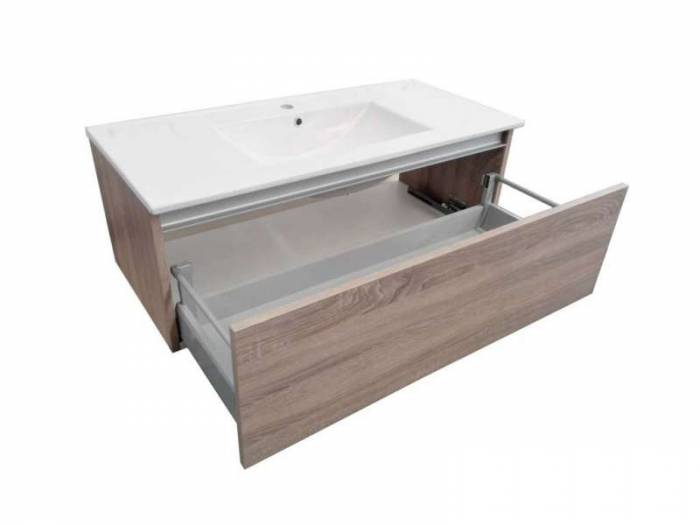 Set mobilier baie Perth Light Tobacco 4 piese