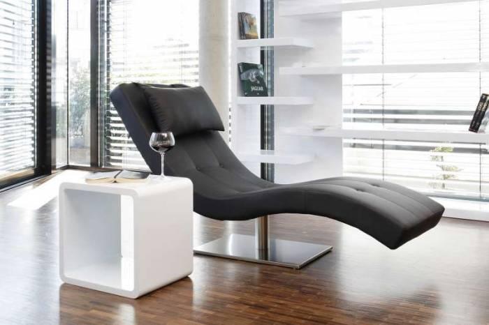 Fotoliu relaxare LifeStyle 200x60 cm, ecopiele