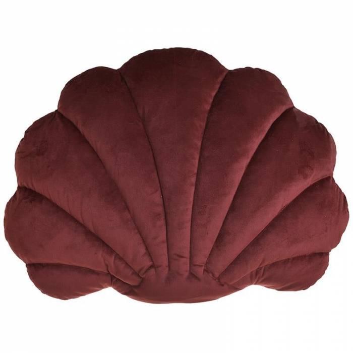 Pernă decorativă Shell Burgundy