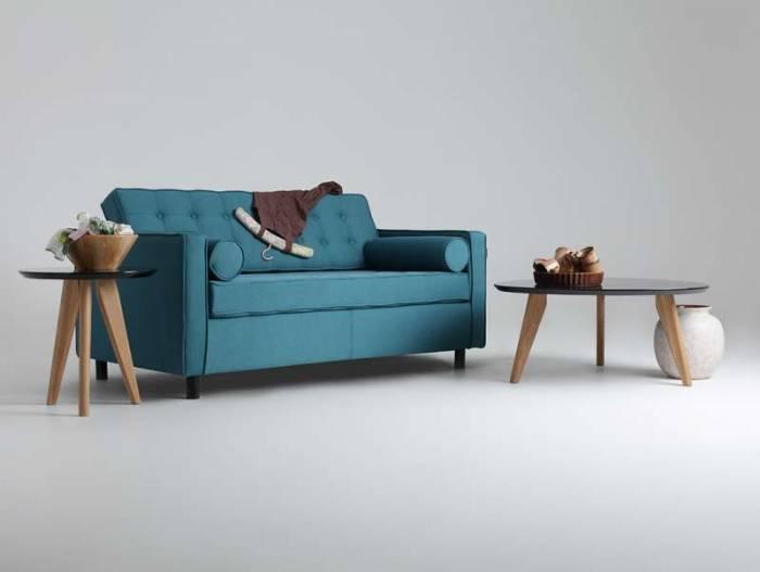 Canapea de 2 locuri turcoaz Topic