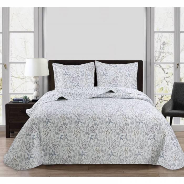 Cuvertură de pat cu floricele colorate Fabrizia 235x270 cm
