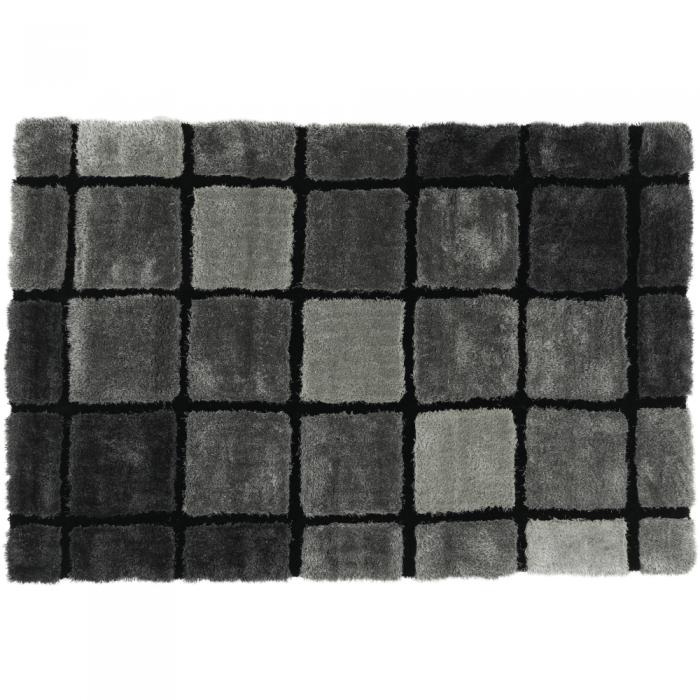 Covor, gri, 120x180, LUDVIG TYP 3