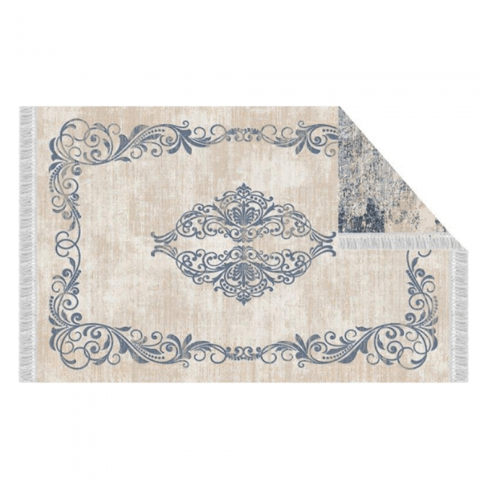 Covor, model/ albastru, 160x230, GAZAN