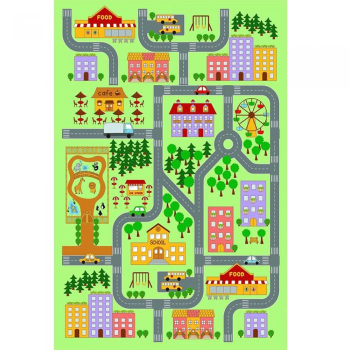 Covor, multicolor, 130x200, EBEL