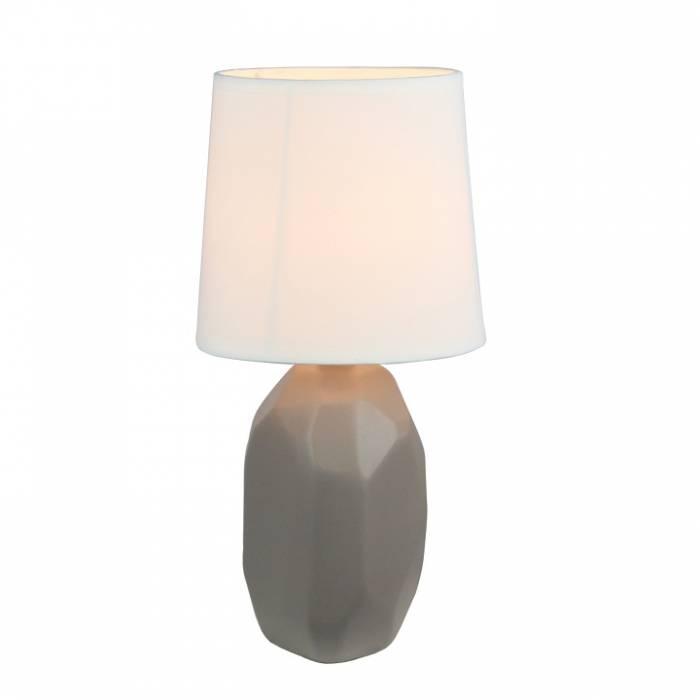 Lampă ceramică, tufă gri / maro, QENNY TYPE 3 AT15556