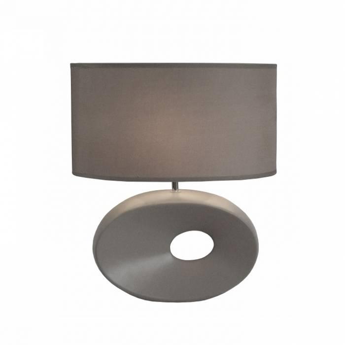 Lampă pe picior ceramică, gri, QENNY TYP 11 AT09115
