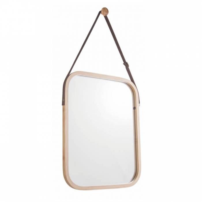 Oglindă, bambus natural, LEMI 2