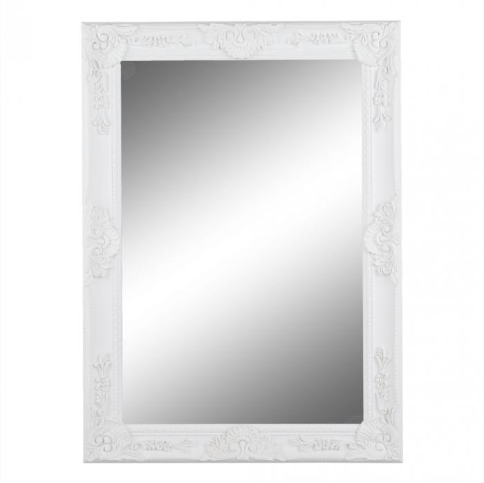 Oglindă, ramă albă, MALKIA TYP 9