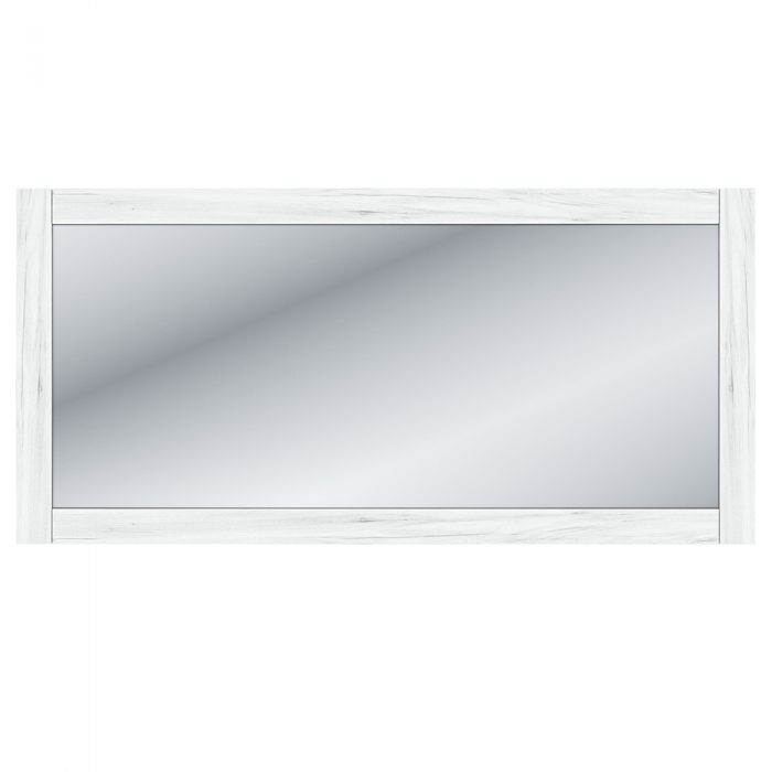 Oglindă W, stejar craft alb, SUDBURY