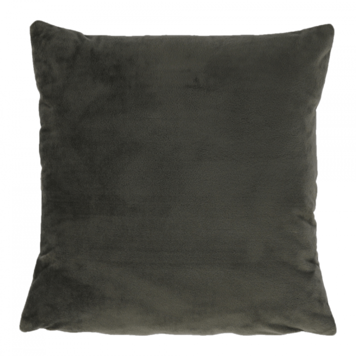 Pernă , material de catifea verde închis, OLAJA TIP 11