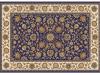 Covor 100x150 cm, albastru închis/amestec de culori/model oriental, KENDRA TIP 1