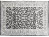 Covor 133x190 cm, gri închis/model flori, AZIR