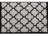 Covor 133x190 cm, gri/negru, TATUM TIP 2