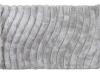 Covor 140x200 cm, alb/gri, SELMA