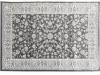 Covor 160x235 cm, gri închis/model flori, AZIR