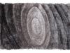 Covor 170x240 cm, gri, cu model, VANJA