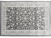 Covor 67x120 cm, gri închis/model flori, AZIR