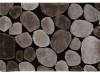 Covor 70x210 cm, maro/bej/negru, PEBBLE TYP 2