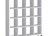 Etajeră, albă, TOFI 6 NEW