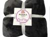 Pătură cu două feţe, negru, 127x152, KASALA TYP 3