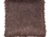 Pernă, gri-maro-taupe/argint, 45x45, FOXA TYP 4
