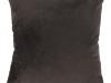 Pernă, material textil de catifea maro închis, 60x60, OLAJA TIPUL 7